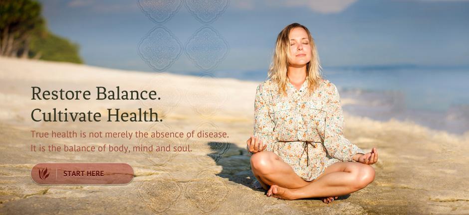 Restore Balance. Cultivate Health.
